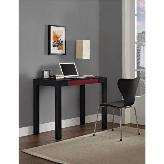 parsons desk with colored drawer multiple colors. Black Bedroom Furniture Sets. Home Design Ideas