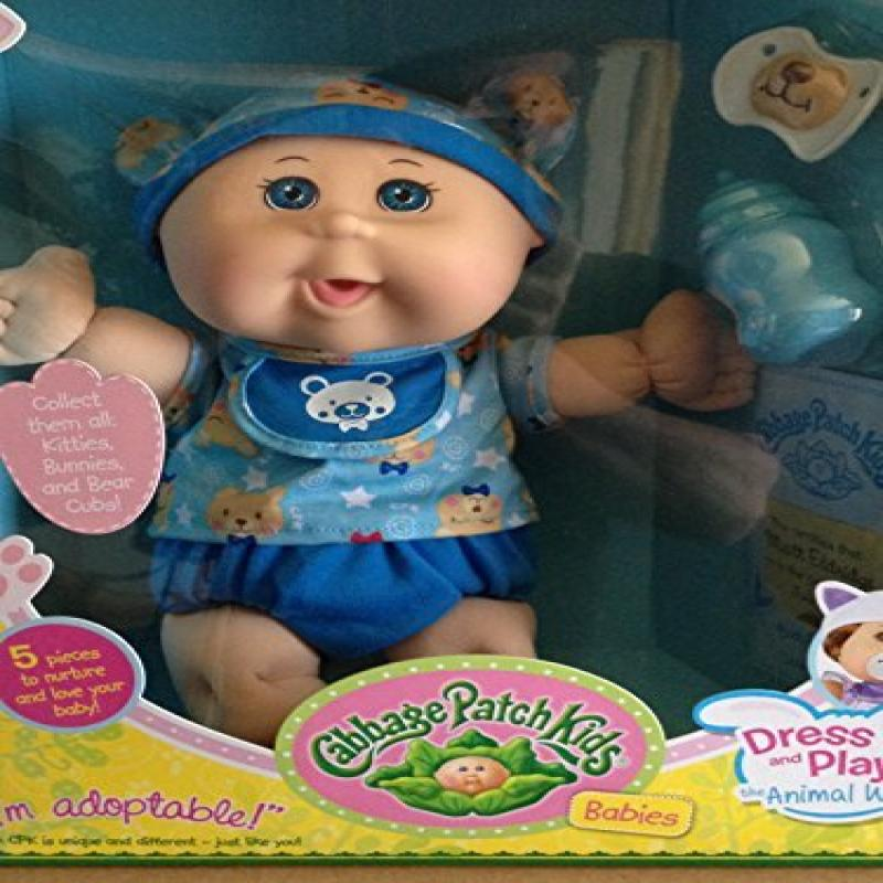 Cabbage Patch Kids Babies Dress up and Play the Animal Way Teddy Bear