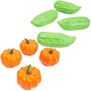 24x Artificial Foam Faux Vegetables Multicolor Decorative Fake Lifelike Fruit Veggie Mix