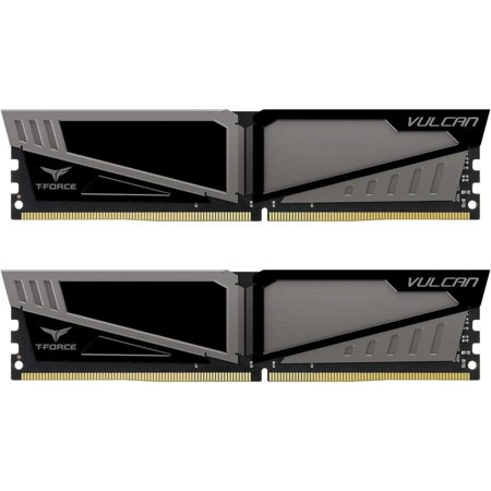 Team Vulcan 16GB (2 x 8GB) 288-Pin DDR4 SDRAM DDR4 2400 (PC4 19200) Desktop Memory Model TLGD416G2400HC14DC01