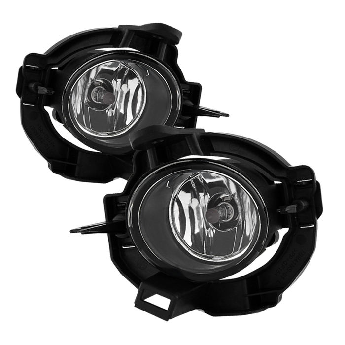 Spyder Nissan Rogue 2008-2013 OEM Fog Lights W/Cover and Switch - Clear