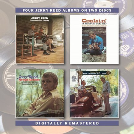 Jerry Reed Explores Guitar Country / Cookin / Georgia Sunshine / Me &Jerry