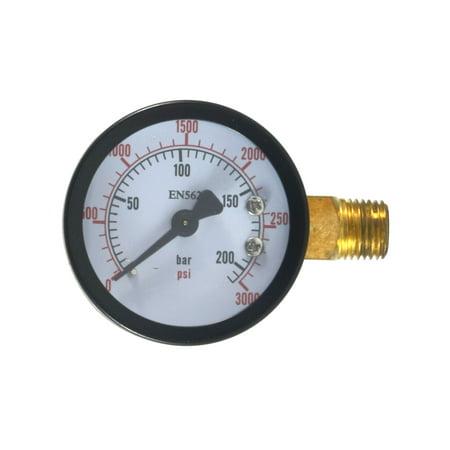 High Pressure CO2 Gauge for Beer/Soda Keg System (Best Keg Co2 Regulator)