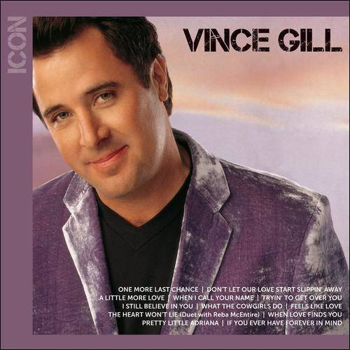 Vince Gill - Icon Series: Vince Gill (CD) (The Best Of Vince Gill)