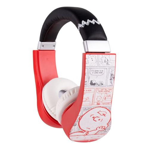 Peanuts Kid-Safe Headphones - Built-In Volume Limiter