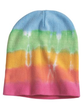 54dae155aa3d76 Product Image Dyenomite Tie-Dyed 12 Inch Knit Beanie