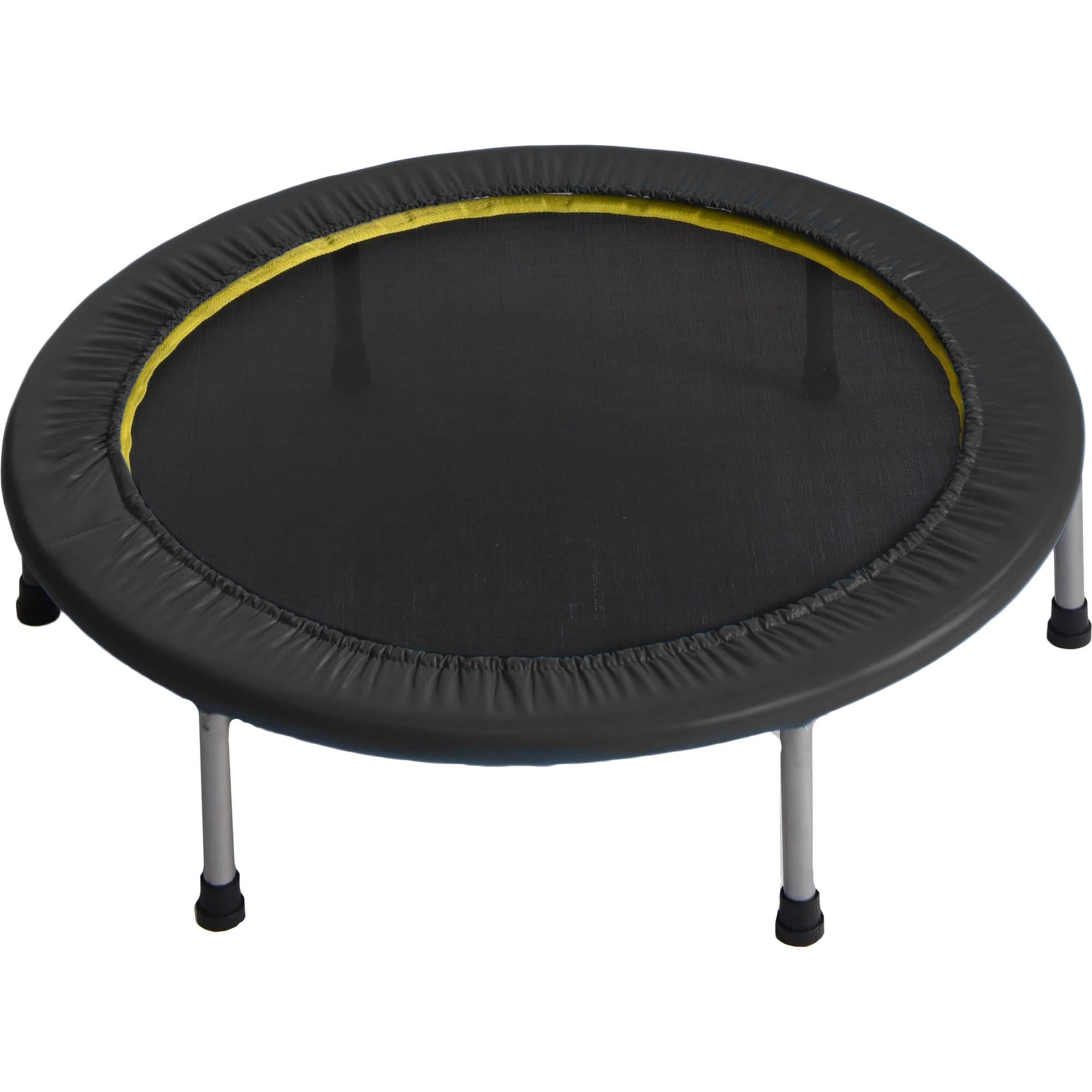 Gold's Gym 36-Inch Cardio Trampoline, Black