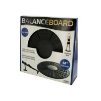 Kole Imports OT243-2 Balance Board Pivoting Exercise Plat for m - Pack of 2