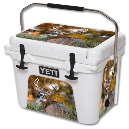 MightySkins Protective Vinyl Skin Decal for YETI Roadie 20 qt Cooler wrap cover sticker skins