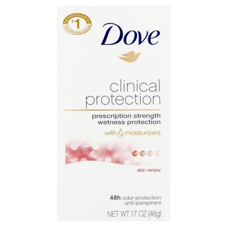 Shin Protection (Dove Clinical Protection ClearTone Skin Renew Antiperspirant 1.7 oz )