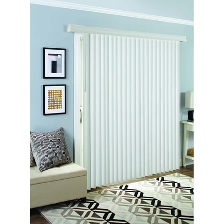 Better Homes and Garden Room Darkening Vertical Blind, White