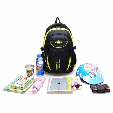 Children Leisure Backpacks For Boys Shoulder Waterproof Large Hiking Rucksack School Bags (Male Hiking Bag)