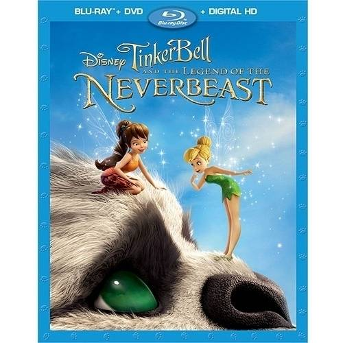 Tinker Bell & The Legend Of The Never Beast (Blu-ray + DVD + Digital HD) (Widescreen)