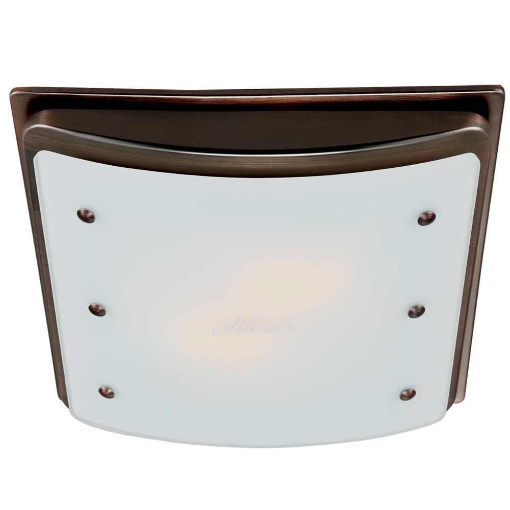Diagram Hunter Ellipse Decorative Bathroom Ventilation Fan With