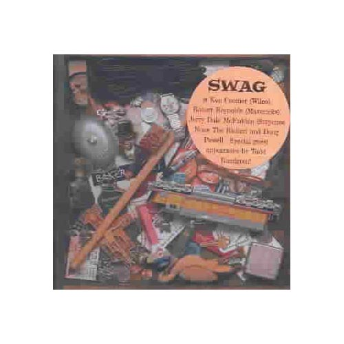 "Swag: Ken Coomer, Jerry Dale McFadden, Robert Reynolds, Doug Powell, Tom Peterson (vocals, various instruments).<BR>Additional personnel: Scotty Huff (vocals); Bill Lloyd (guitar, background vocals); Kenny Vaughn (guitar); Chris Carmichael (strings); Jim Hoke (harmonica); Brad Jones (bass).<BR>Recorded at Alex The Great Recording & Carport, Nashville, Tennessee.<BR>CATCH-ALL is a noteworthy debut by rock veterans Swag, featuring an ex-member of Wilco, members of Sixpence None The Richer, and the Mavericks, who pay homage to '60s era pop/rock and the British Invasion. The listener is instantly hooked by the catchy whistle-along ""Lone,"" with its cute harmonies, while ""I'll Get By"" turns the rock quotient up a notch, ""Near Perfect Smile"" is a perfect slice of jazzy pop, and ""Please Don't Tell"" is appealing in a Zombies-like way.   CATCH-ALL is fresh, creative pop/rock with a warm retro feel."