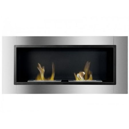 Ignis Products Lata Wall Mount Ethanol Fireplace