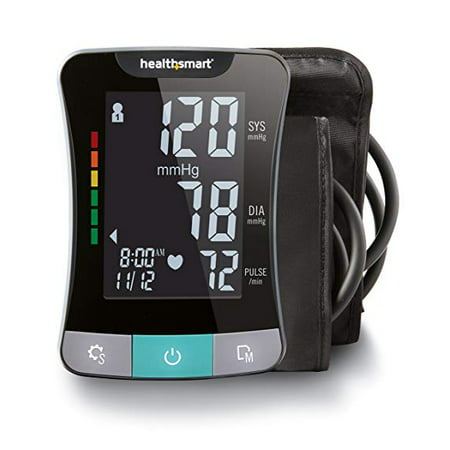 Digital Blood Pressure Monitor with Standard and Large Cuffs, Automatic High Blood Pressure Machine, Upper Arm Blood Pressure Monitor, Talking,