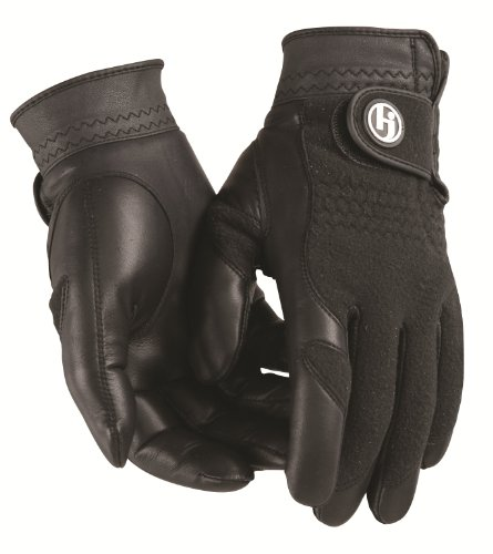HJ Glove Men's Black Winter Performance Golf Glove, XX-Large, Pair by HJ Glove