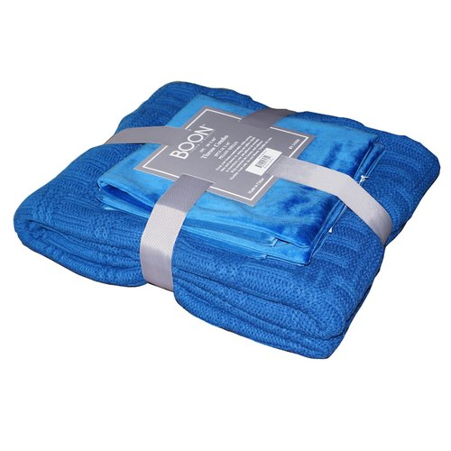 BOON Throw & Blanket Cable Brooke Throw Blanket