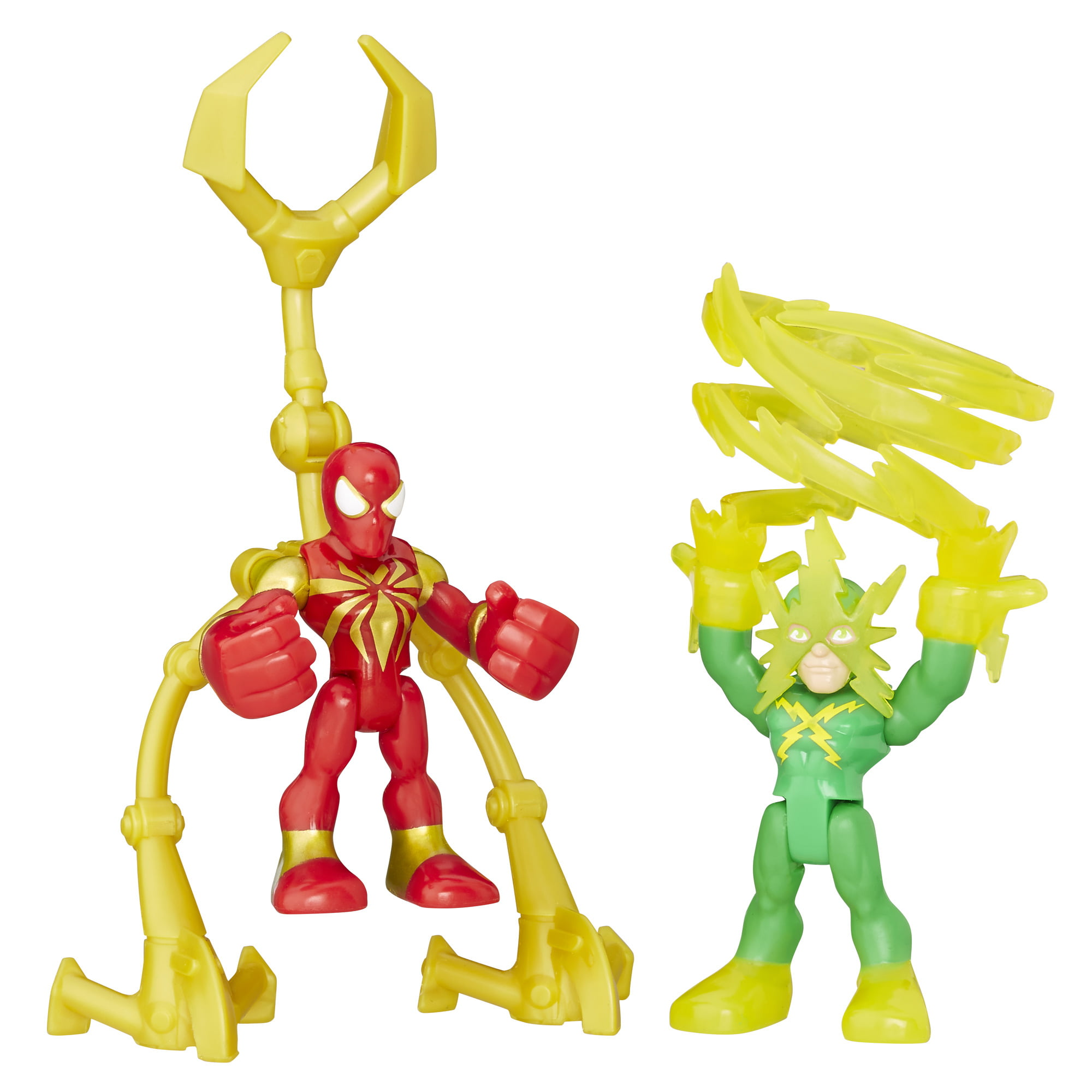 Playskool Heroes Marvel Super Hero Adventures Iron Spider and Marvels Electro by SUPER HERO ADVENTURE