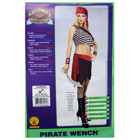 Rubie's Womens 'Pirate Wench' Halloween Costume