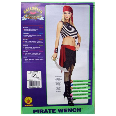 Rubie's Womens 'Pirate Wench' Halloween Costume (Pirate Wench)