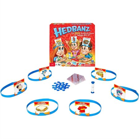 Spin Master Headbandz   Quick Question Game Of  What Am I     Ask  Yes  Or  No  Questions To Figure Out If The Cartoon On Your Head Is An Animal  Food Or Man Made Object