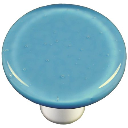 (Round Knob in Egyptian Blue (Aluminum))