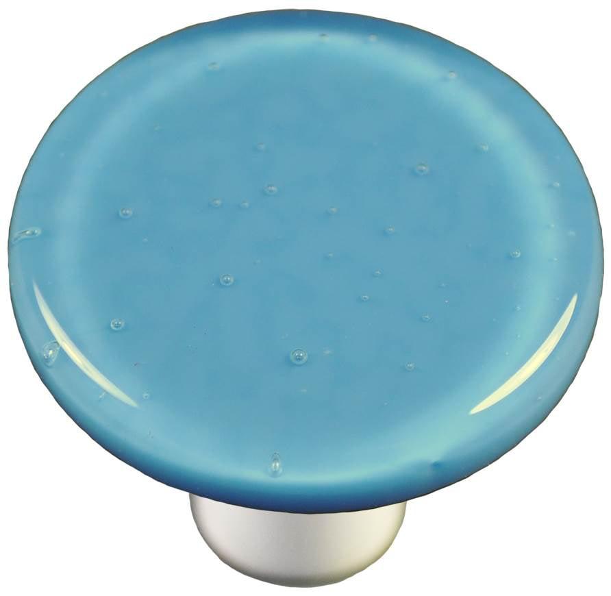 Round Knob in Egyptian Blue (Aluminum)