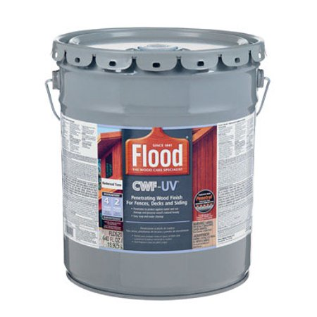 Flood CWF-UV Oil-Modified Fence Deck and Siding Clear Wood (Seal Wood Deck)