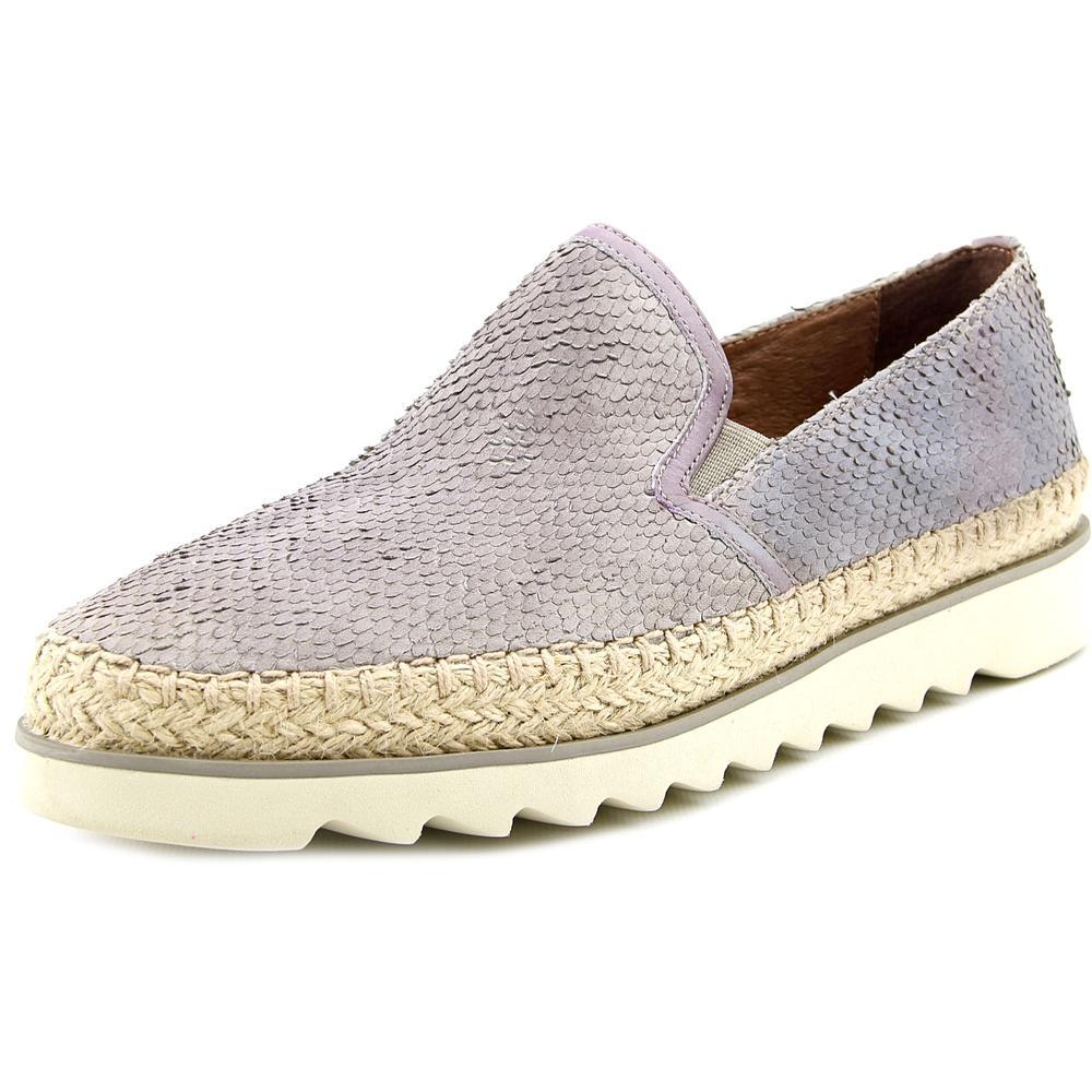 Donald J Pliner Millie-A5 Women Round Toe Leather Gray Loafer by Donald J Pliner