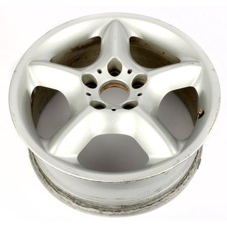 "2000-2006 BMW X5 17 x 7-1/2"" Aluminum Alloy 5 Lug 5 Spoke Wheel Rim 36111096159"