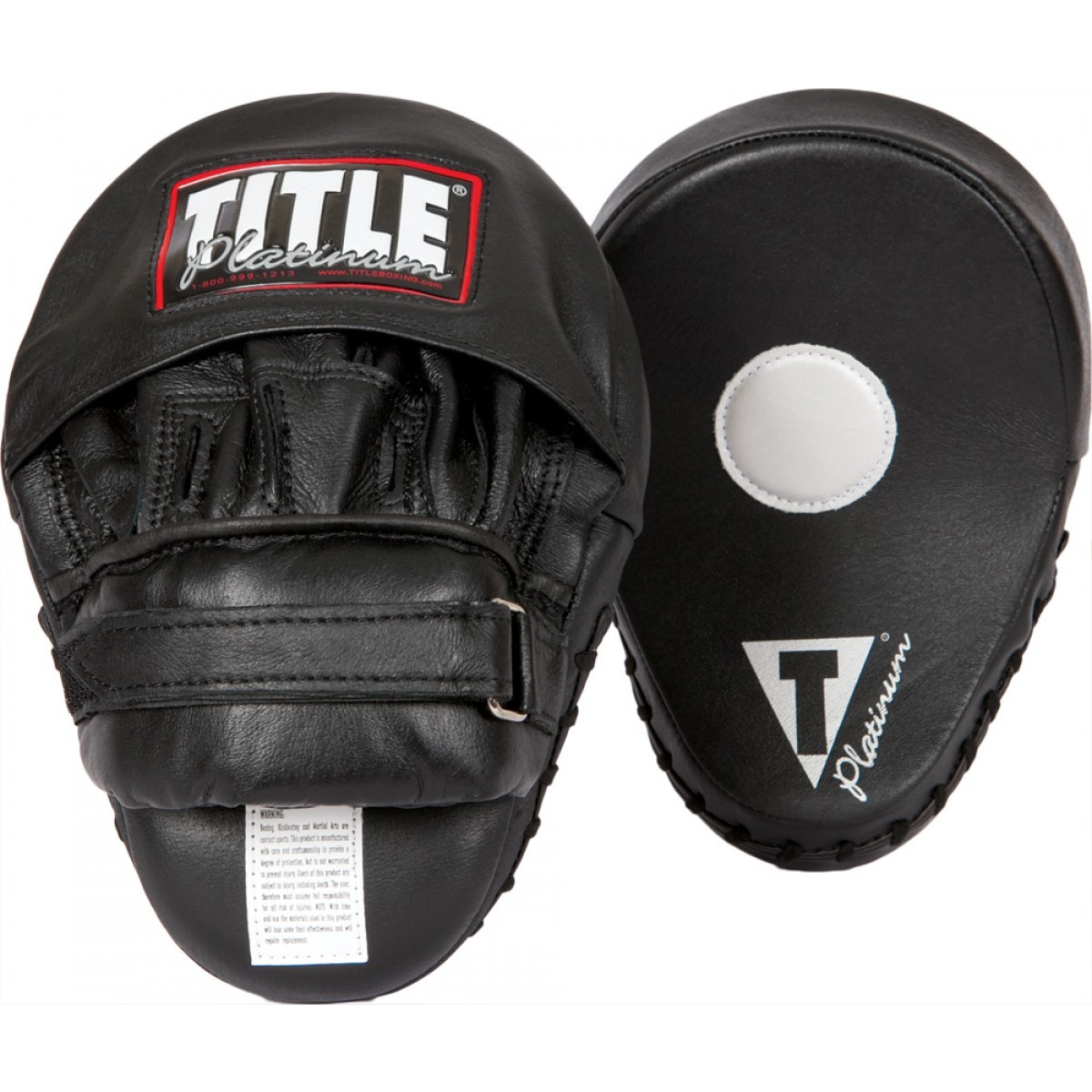 TITLE Boxing Platinum Punch Mitts by
