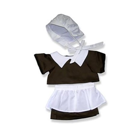 Pilgrim Girl Outfit Teddy Bear Clothes Fits Most 14
