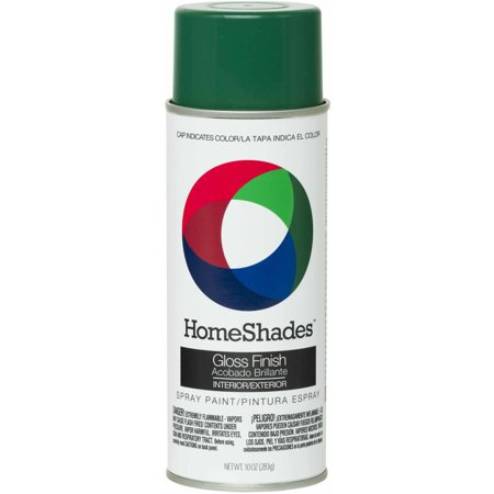 HomeShades Spray Paint, Gloss Kelly Green (Uv Reactive Spray Paint)