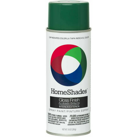 HomeShades Spray Paint, Gloss Kelly - Spray Paint Art Halloween