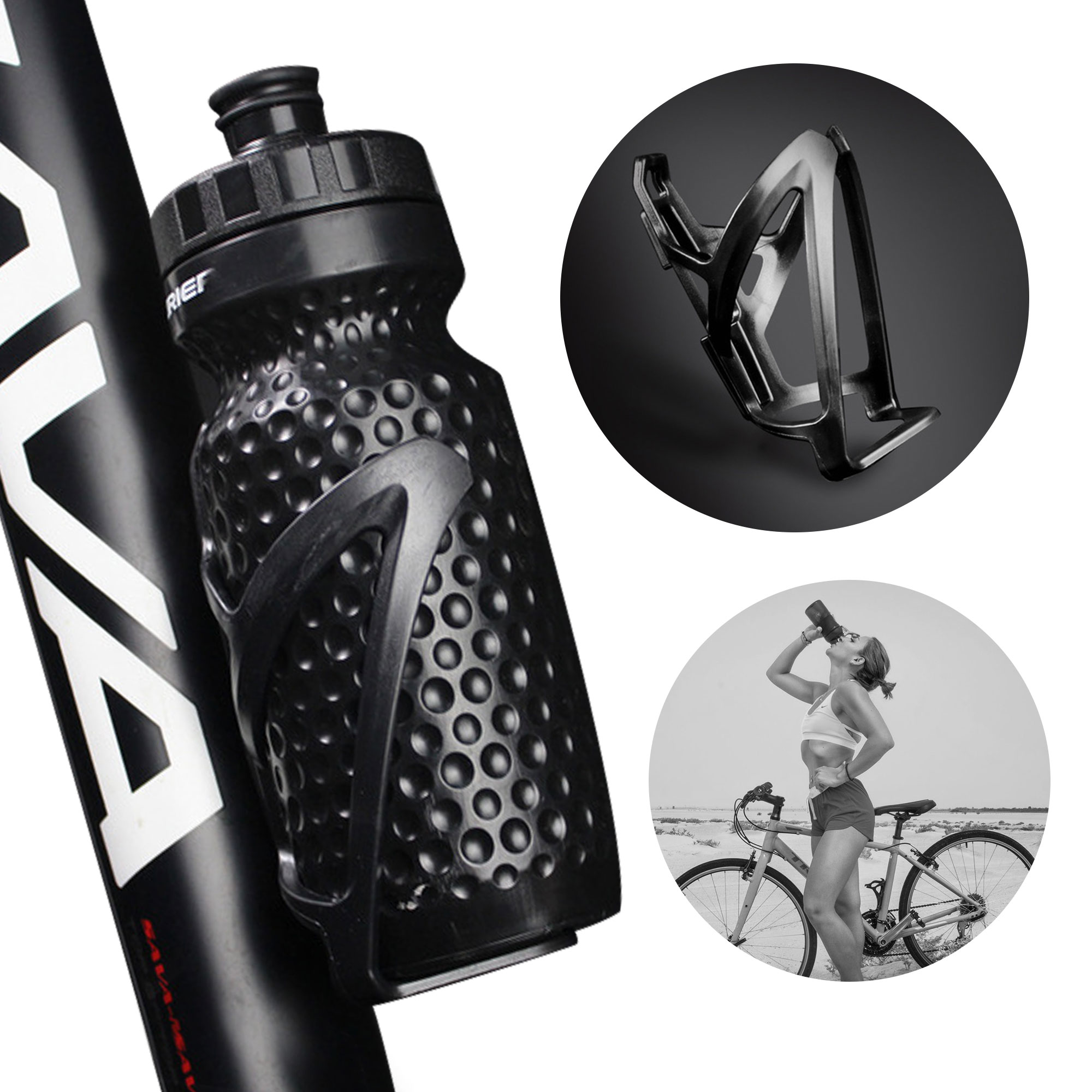 Holder Cag XLL Mountain MTB Bike Bicycle Cycling Outdoor Water Drink Bottle