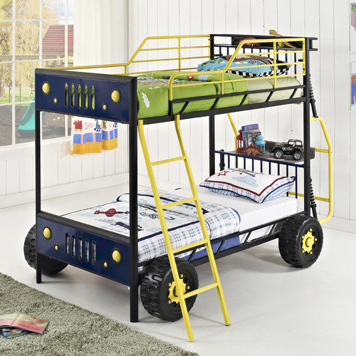 Powell Furniture Dune Buggy Twin-over-Twin Bunk Bed