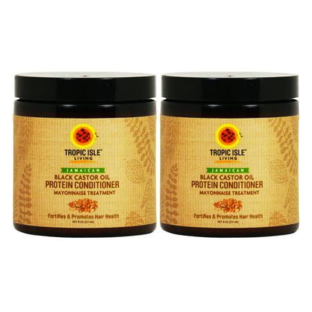 Wheat Protein Conditioner - Jamaican Black Castor Oil Protein Conditioner 8oz