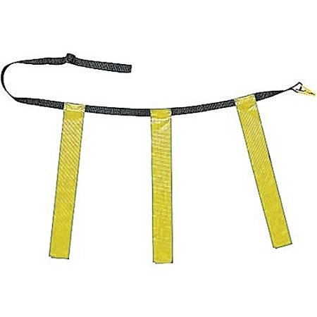 New Martin Single (1) 3 Flags, Football Quick Release Buckle Belts Adult Gold, See Product Description in Details By Martin Sports