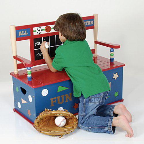Wildkin Wildkin Kids All Star Sports Bench Seat with Storage