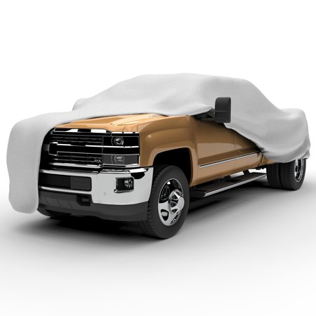 Budge Protector V Truck Cover, 5 Layer Premium Weather Protection for Trucks, Multiple Sizes