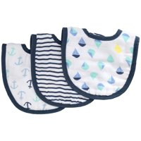 ideal baby by the makers of aden + anais 3pk Snap Bibs, Dreamy
