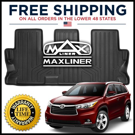 2014 2016 Toyota Highlander Maxfloormat Floor Mats Third Row