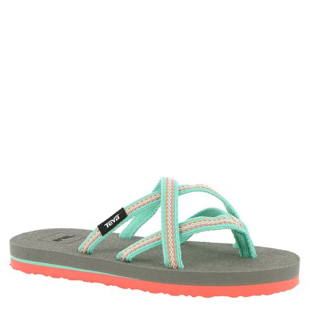 7a7ced7ca Teva Girls olowahu Slip On Thong Flip - image 1 of 2 ...