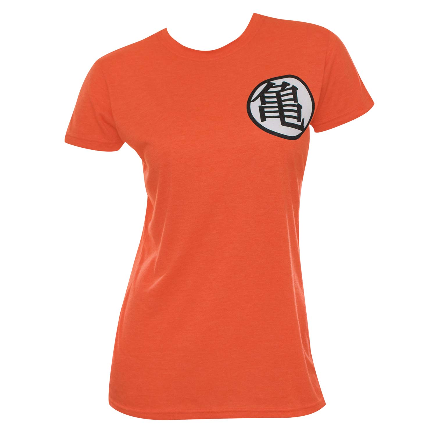 Women's Cotton Blend Dragonball Z Kame Symbol T-Shirt
