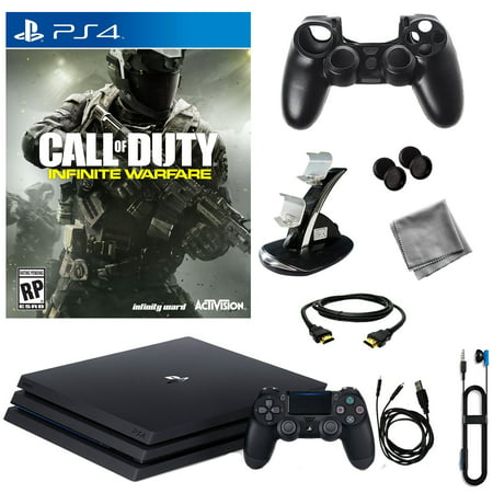 PlayStation 4 Pro 1TB Console With Infinite Warfare & 8 in 1 Kit