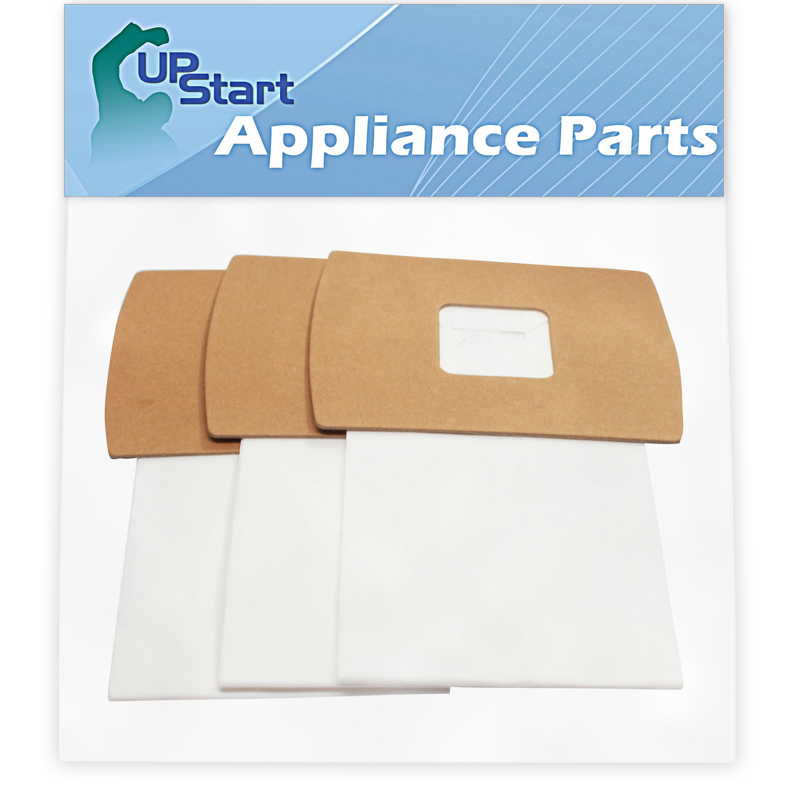 3 Replacement Type BB Buster B Vacuum Bags for Oreck - Compatible with Oreck XL2, Oreck PKBB12DW, Oreck BB900-DGR, Oreck XL PRO 5, Oreck Buster B, Oreck BB280D, Oreck BB870AW, Oreck XL 3, Oreck XL 5