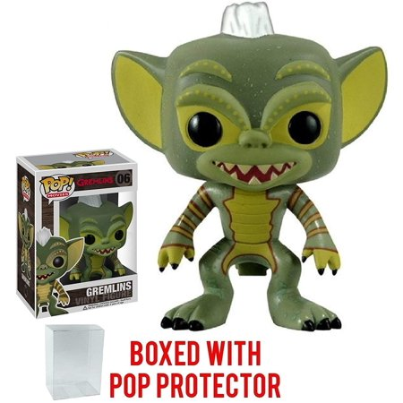 Funko Pop! Movies: Gremlins - Gremlins Stripe Vinyl Figure (Bundled with Pop BOX PROTECTOR CASE) - Stripe Gremlin