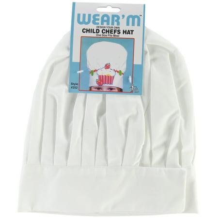 Childrens Chef Hats (Wear'M Design Your Own, Child Chefs Hat,)